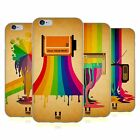 HEAD CASE DESIGNS COLOUR DRIPS SOFT GEL CASE FOR APPLE iPHONE 6 6S