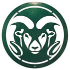 COLORADO STATE RAMS Steel Scenic Art Wall Design
