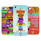 HEAD CASE DESIGNS STRANDSCHILDER SOFT GEL HÜLLE FÜR APPLE iPHONE 5 5S SE