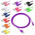 6FT Micro USB Data Sync Charging Cable Cord For Cellphone Tablet