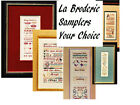 LA BRODERIE Samplers - Your Choice!