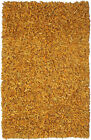 St. Croix Pelle Leather Gold Area Rug