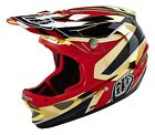 Troy Lee Designs 2016 D3 Composite Reflex Gold Chrome Helmet Adult All Sizes