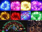 7ft 2M Battery Operated 20 LED string fairy light copper wire Halloween Xmass