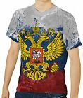 Russian Flag Men's Clothing T-Shirts S M L XL 2XL 3XL