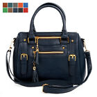 NEW Womens Ladies Shoulder Tote Satchel Handbag Cross Body Bag Small Large