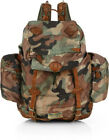 Polo Ralph Lauren Mens Camo Leather Duffle Yosemite Eco Lodge Carry Backpack Bag
