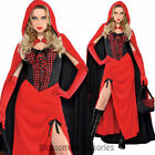 K124 Little Red Riding Hood Oktoberfest Halloween Fancy Dress Fairy Tale Costume