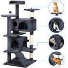 53'' Cat Tree Tower Condo Furniture Scratching Post Pet Kitty Play House 4 Color