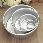 2/4/6/8'' Aluminum Alloy Round Cake Pan Tins Baking Mould Bakeware Tray    TK