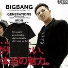 Kpop Bigbang T-shirt Unisex Tshirt Tee GD G-Dragon Short Sleeve Clothes Jumper