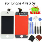 Lot Digitizer Assembly Replacement LCD Full Display Touch Screen For iPhone 4 5