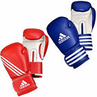 ADIDAS TRAINING BOXING GLOVES RED BLUE WHITE UK SIZES