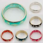 New Chic Fashion Women Silver Plated Roundness Charming Bangles & Bracelet