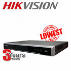 UK HIKVision DS-7604NI-E1/4P/A 4 Channel POE NVR For IP CCTV Cameras Up to  4MP
