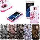 For Samsung Galaxy S7 / S7 Edge IMPACT TUFF HYBRID Protector Case Skin Cover