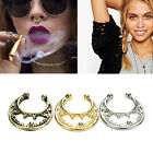 Women Nose Ring Faux Piercing Nose Studs Body Hoop Nose Ring Septum Clip Jewelry