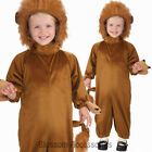 CK659 Lion Toddler Animal Wizard Of Oz Cowardly Book Weeek Fancy Dress Costume