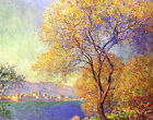 Antibes Seen from La Salis Claude Monet Canvas Art Print Painting Reproduction