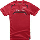 Alpinestars 2016 Driven Short Sleeve T-Shirt Red Mens All Sizes