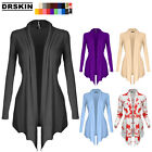 [DRSKIN] Women's Open - Front Long Sleeve Knit Cardigan