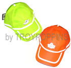 ERGODYNE WORK GEAR-1-GLOWEAR #8930 BASEBALL HAT HV REFLECTIVE SUN SAFETY VENTED