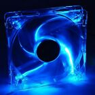 Coolmax 4 BLUE UV LED 120mm x 25mm 4-Pin Case Fan FREE S/H
