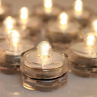 Flameless Tea LED Light Candles Waterproof Warm White For Wedding Party Decor