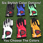 Two 2 Pack Zero Friction Performance Compression Fit Golf Glove CHOOSE Color NEW