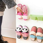 Creative Door Wall Mounted Sticky Hanging Shoe Organizer Rack Holder LA