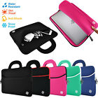 "Slim 15.6"" Ultrabook Laptop Soft Neoprene Handle Carrying Sleeve Case Cover"