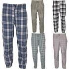 New Mens Nightwear Check Pyjamas Lounge Pants Sleepwear Comfy Trousers Bottoms