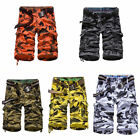 New Mens Army Shorts Combat Camo Work Cargo Short Trousers Summer Pants 29-38