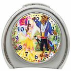 BEAUTY AND THE BEAST ALARM CLOCK NIGHT LIGHT TRAVEL TABLE DESK NEW