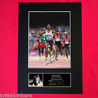 MO FARAH Autograph Mounted Signed Photo RE-PRINT A4 273