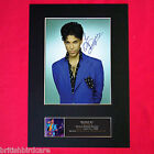 PRINCE Mounted Signed Photo Reproduction Autograph A4 376