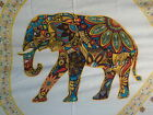 Retro Funky Elephant Boho Hippy Large Batik Sarong Shawl Wrap Beach Skirt Dress