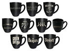 Stoneware Mug: Led Zeppelin / Beatles / Pink Floyd / Iron Maiden / AC/DC - New