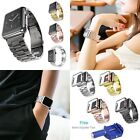Stainless Steel Strap Watch Band+Adapter+Case Cover for Apple Watch iWatch 38/42