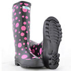 SPLASH Ladies Girls Wellington Boots UK 4 Festival School Walking Rain Wellies