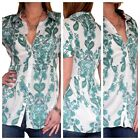 Ladies Blouse Shirt Tunic Womens Tops Long Casual Top Size 8 10 12 14 16 18 20