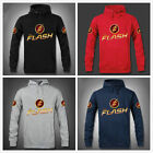 Teleplay The Flash Pattern Cotton Blend Men'S Hoodie Sweater