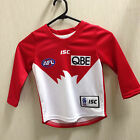 Sydney Swans Toddler Home Jersey (Long Sleeve) AFL Australian Rules