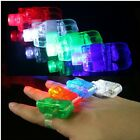 20/50/100x LED Party Laser Finger Light Beam Torch Ring Child Boy Dance Bar Toy