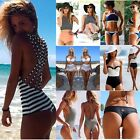 Sexy One Piece One Piece Push Up Bikini Triangle Swimsuit Swimwear Bathing Suit