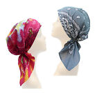 Cotton S/M Size Pre Tied Fitted Bandana  Chemo Scarf Head scarf Head Wear
