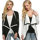 Irregular Long Sleeve Women Cardigan Coat Blazer Coats Poncho Hot S,M,L,XL N4U8