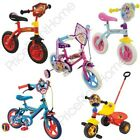 KINDER FIGUREN FAHRRAD TRIKES DISNEY PRINCESS FIREMAN SAM THOMAS PEPPA