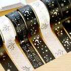 NEW Foil Printing For Christmas Set Japanese Washi Paper Tape 15mmX5m LA
