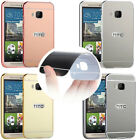 New Aluminum Metal Frame Mirror Push-Pull Acrylic Back Case Cover For HTC One M9